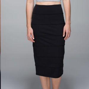 NWT Lululemon Yoga Over Skirt - Sz 6